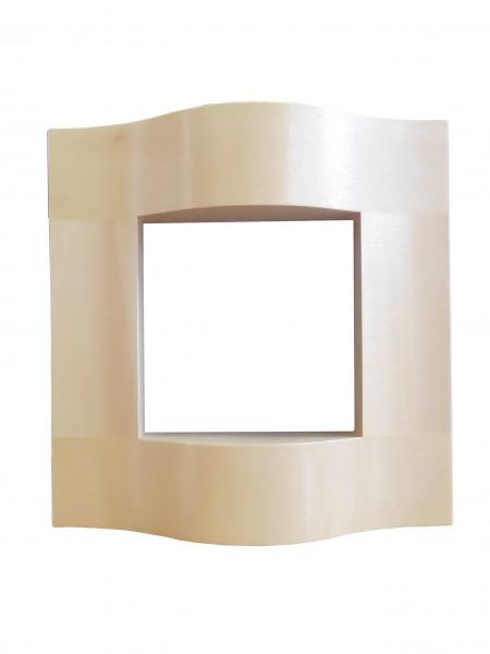 Rahmen 130 x 130 x 34, natur (Auslauf)