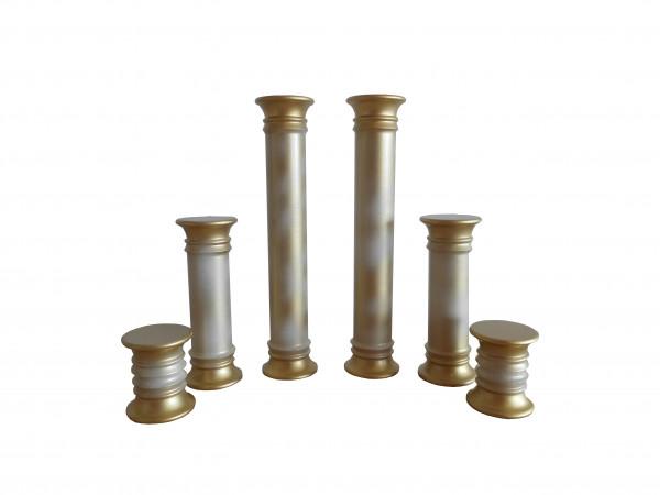 Säulen 6-tlg. (Auslauf)