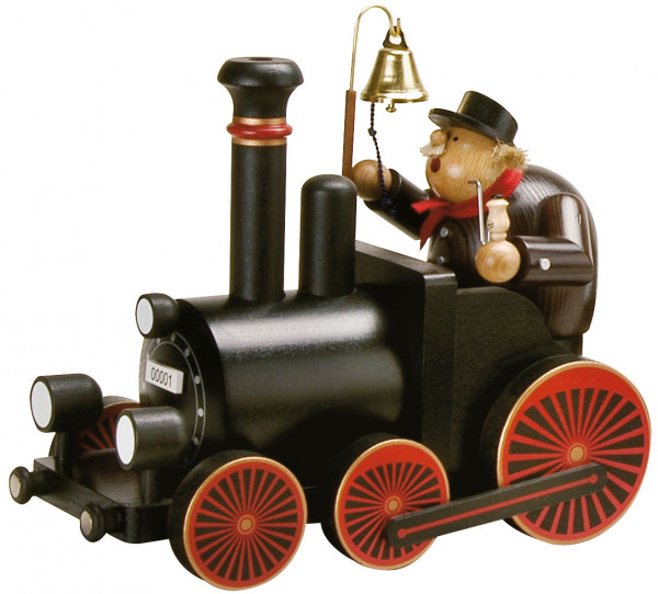 RM Lokführer mit Lokomotive