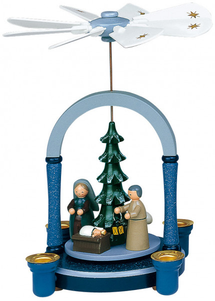 PY Christi Geburt blau grau