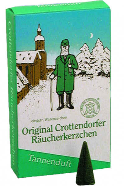 Räucherkerzen, Tannenduft, Crottendorfer