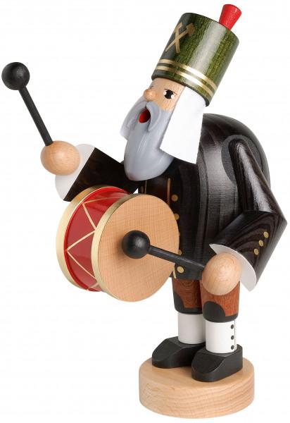 RM Bergmann mit Trommel