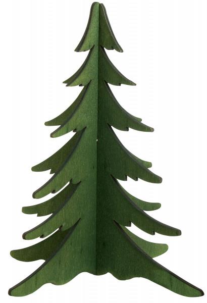 Baum grün, 19 cm