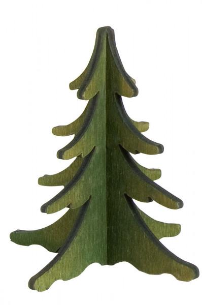 Baum grün, 8 cm