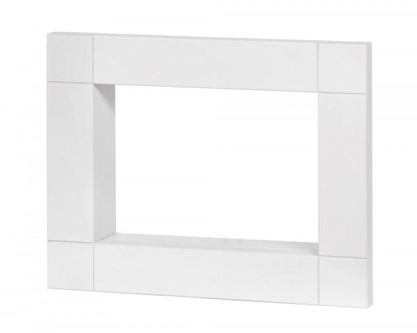 Rahmen 420 x 330 x 80, weiß lasiert