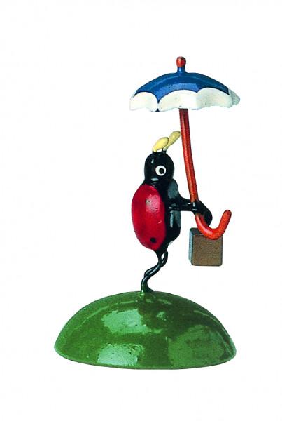Marienkäfer mit Schirm (Auslauf)
