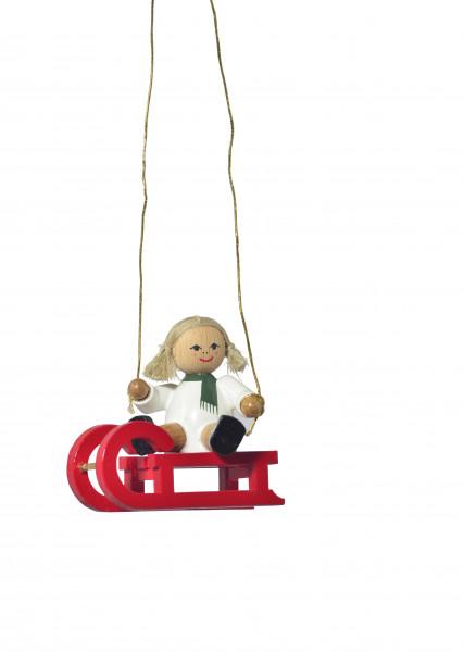 "Baumbehang ""Puppe auf Schlitten"""