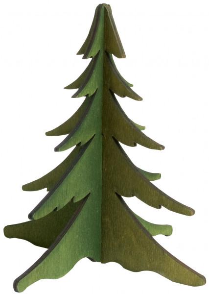 Baum grün, 13 cm