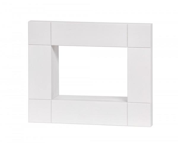 Rahmen 330 x 270 x 80, weiß lasiert