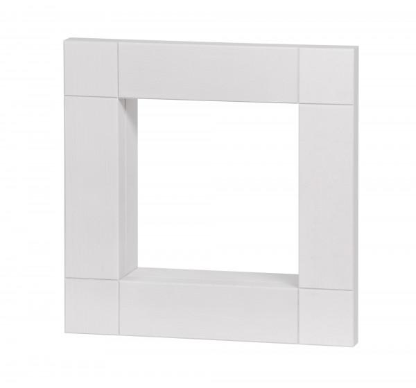 Rahmen 330 x 330 x 80, weiß lasiert