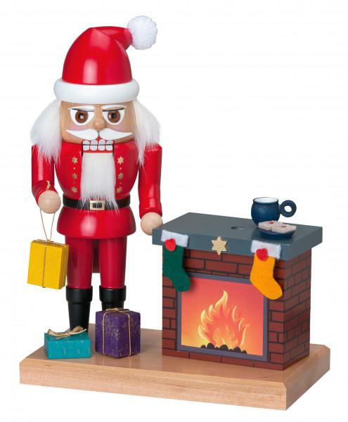 NK Weihnachtsmann klein mit Kamin (Auslauf)