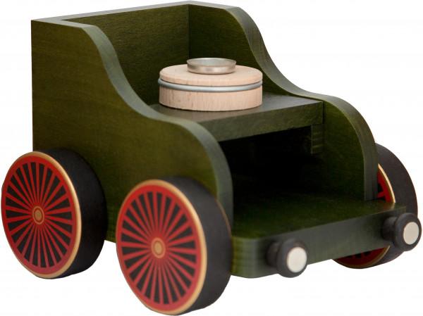 Eisenbahnwagen grün