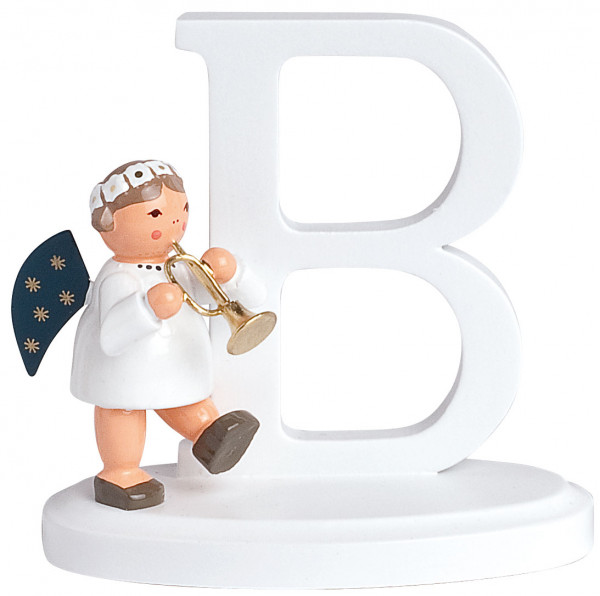"""Buchstabe """"B"""" mit Engel"""