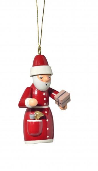 """Baumbehang """"Weihnachtsmann mit Geschenk"""""""