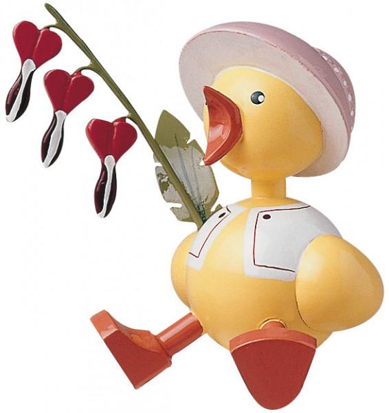 Küken / rosa-Herzblume (Auslauf)