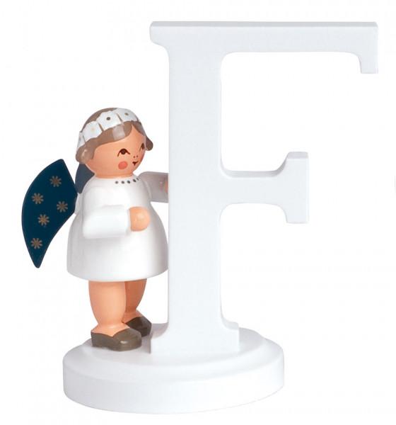 """Buchstabe """"F"""" mit Engel"""