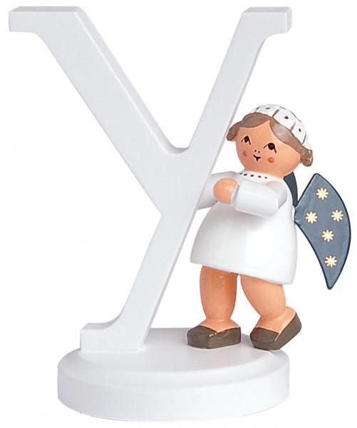 """Buchstabe """"Y"""" mit Engel"""